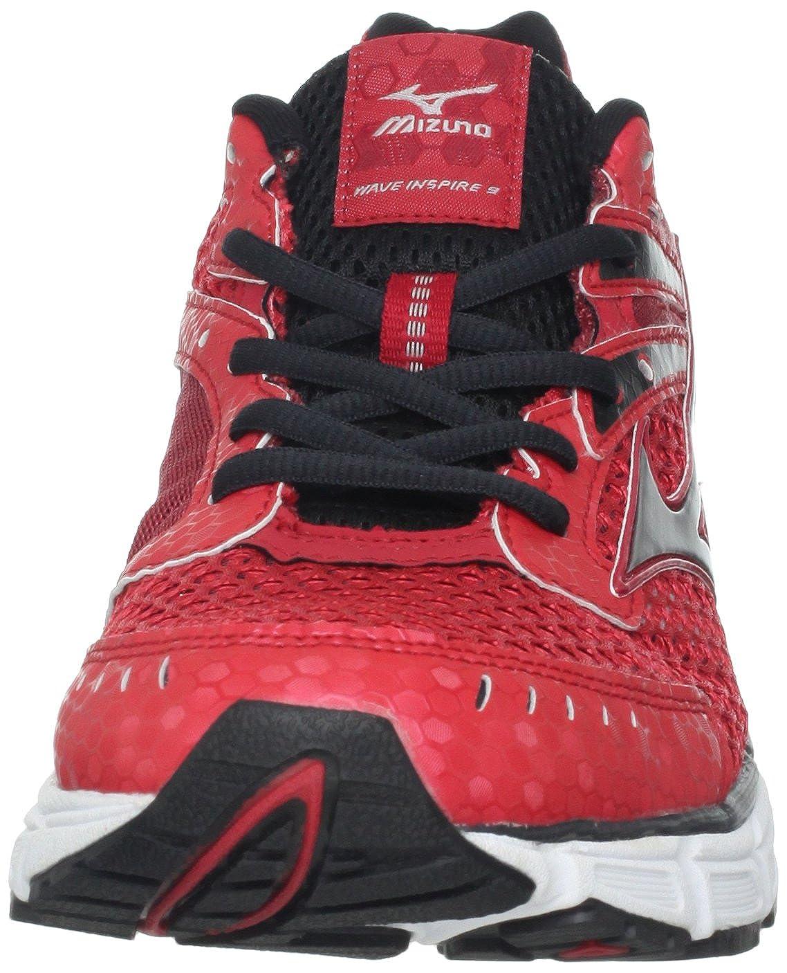 Mizuno Wave Inspire 9 Uomo Rosso Scarpe ginnastica Taglia EU 40 aa255c5dd83