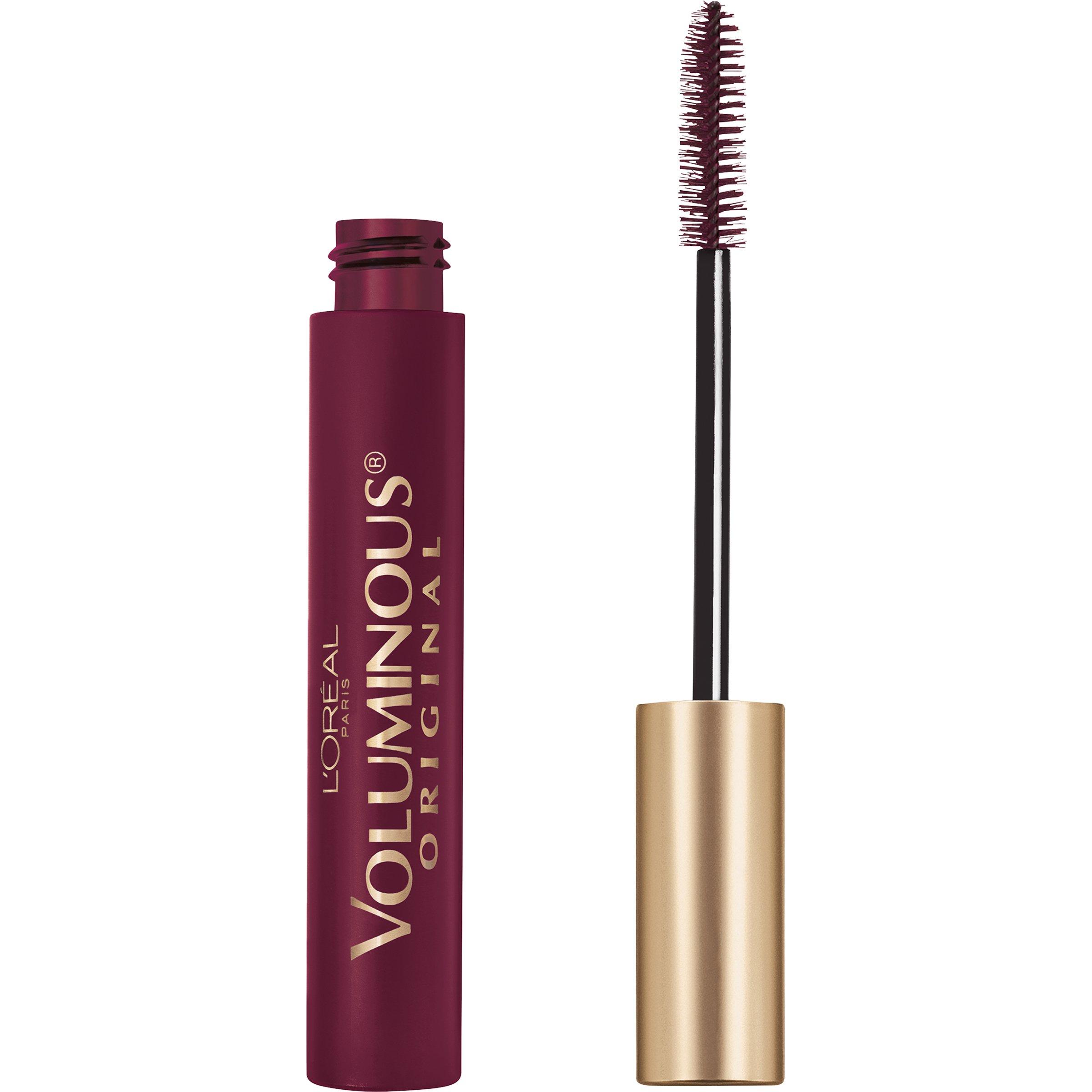 L'Oreal Paris Makeup Voluminous Original Volume Building Mascara, Deep Burgundy, 0.28 fl. oz.