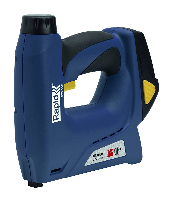 Rapid 5000128 Rapid BTX530 Graffatrice Elettrica Li-Ion Cordless, 240 V, Blu