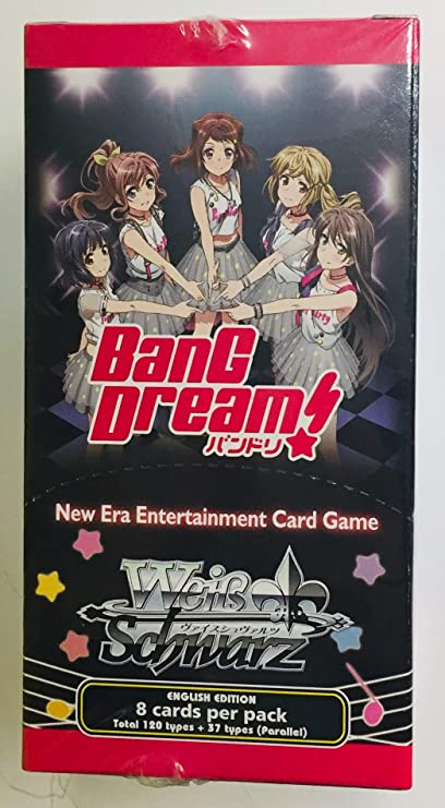 Weiss Schwarz Bang Dream Booster Box Bushiroad