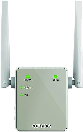 Netgear EX6120-100UKS - Extensor de Red WiFi AC1200 Dual Band (2,4