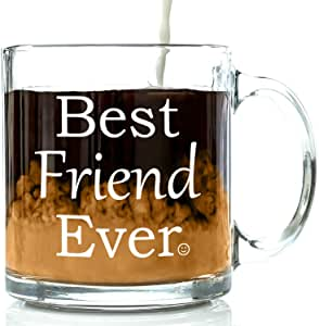 Got Me Tipsy - Best Friend Ever Glass Coffee Mug 13 oz