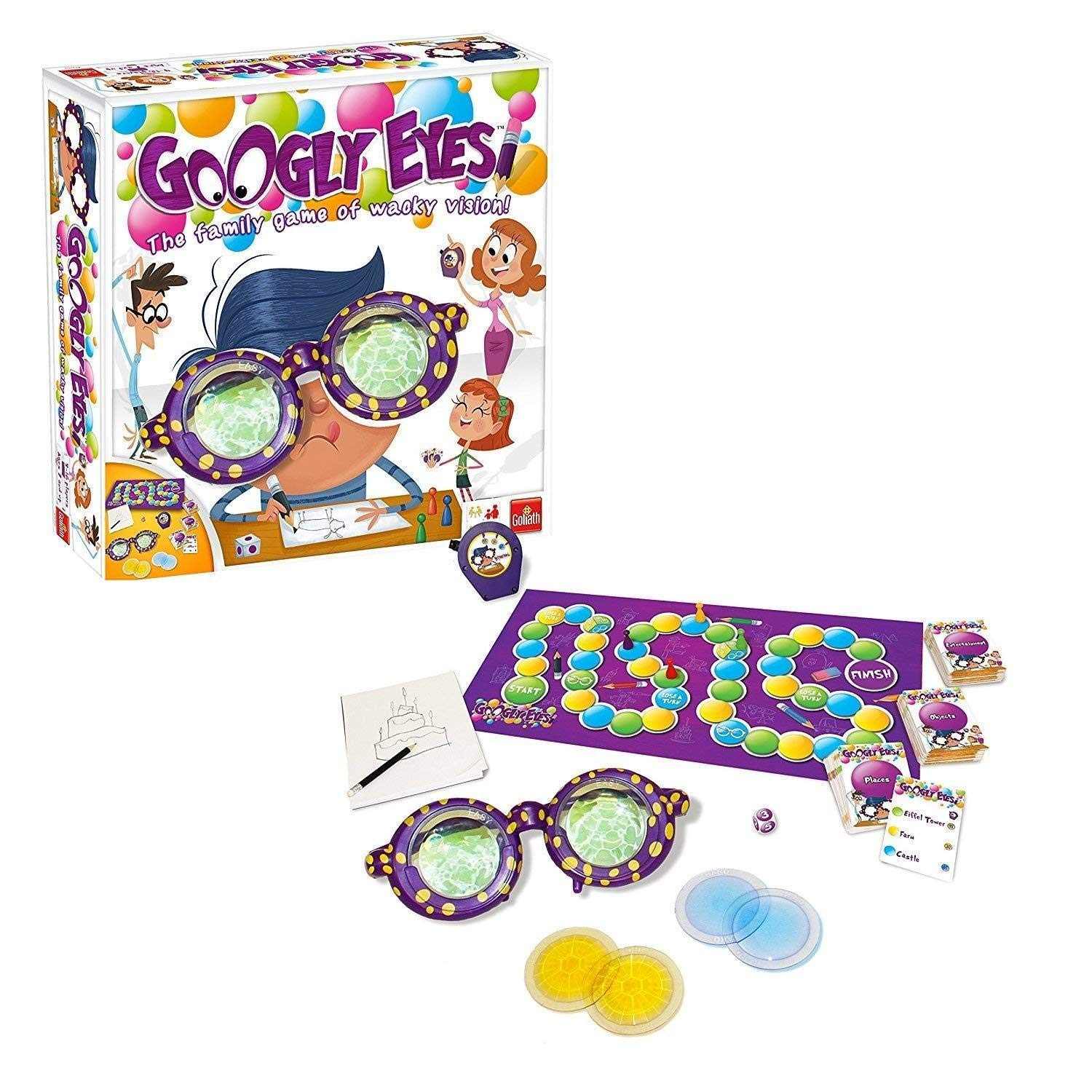 drawing game google Googly Eyes Game Family Drawing Game With Crazy Vision Altering Glasses