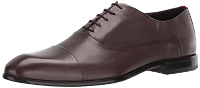 cb7c6c55db9 HUGO by Hugo Boss Men s Dress Appeal Leather Lace Up Oxford Uniform Shoe