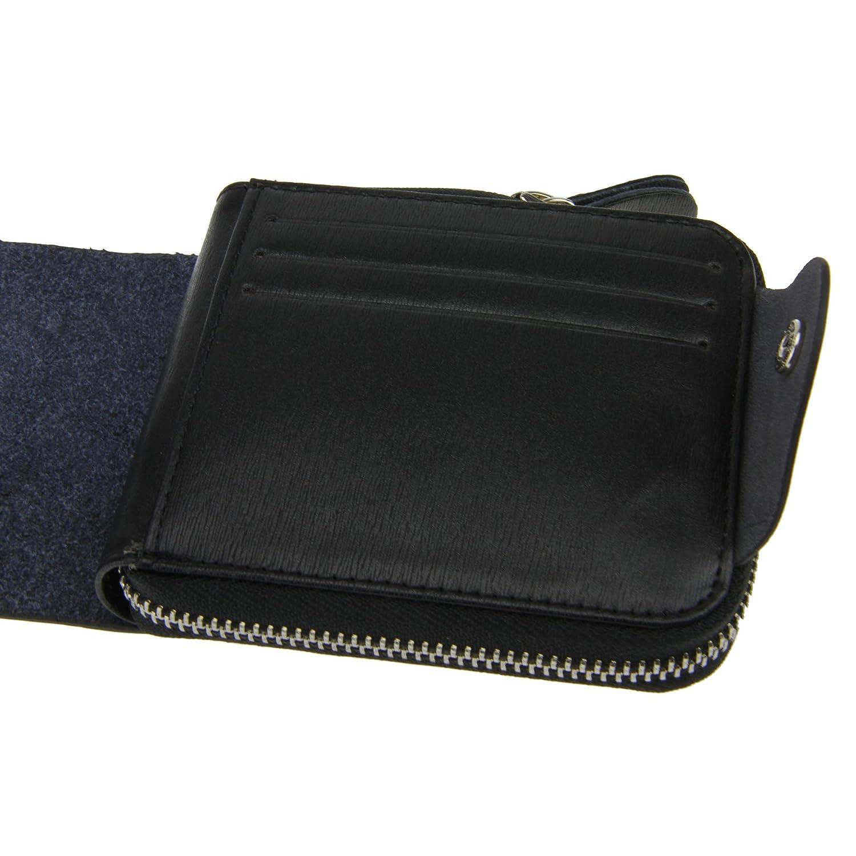 Mens Short Trifold Wallet Money Clip Coin Purse Pocket Business Card Holder Cash Change Pouch