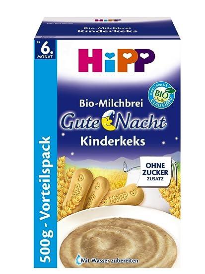 Hipp Kinderkeks buenas noches avena - a partir de 6 meses, 500 g, 4
