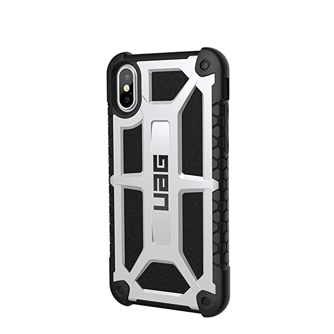competitive price cd553 eadc3 URBAN ARMOR GEAR UAG iPhone Xs/X [5.8-inch Screen] Monarch Feather-Light  Rugged [White] Military Drop Tested iPhone Case