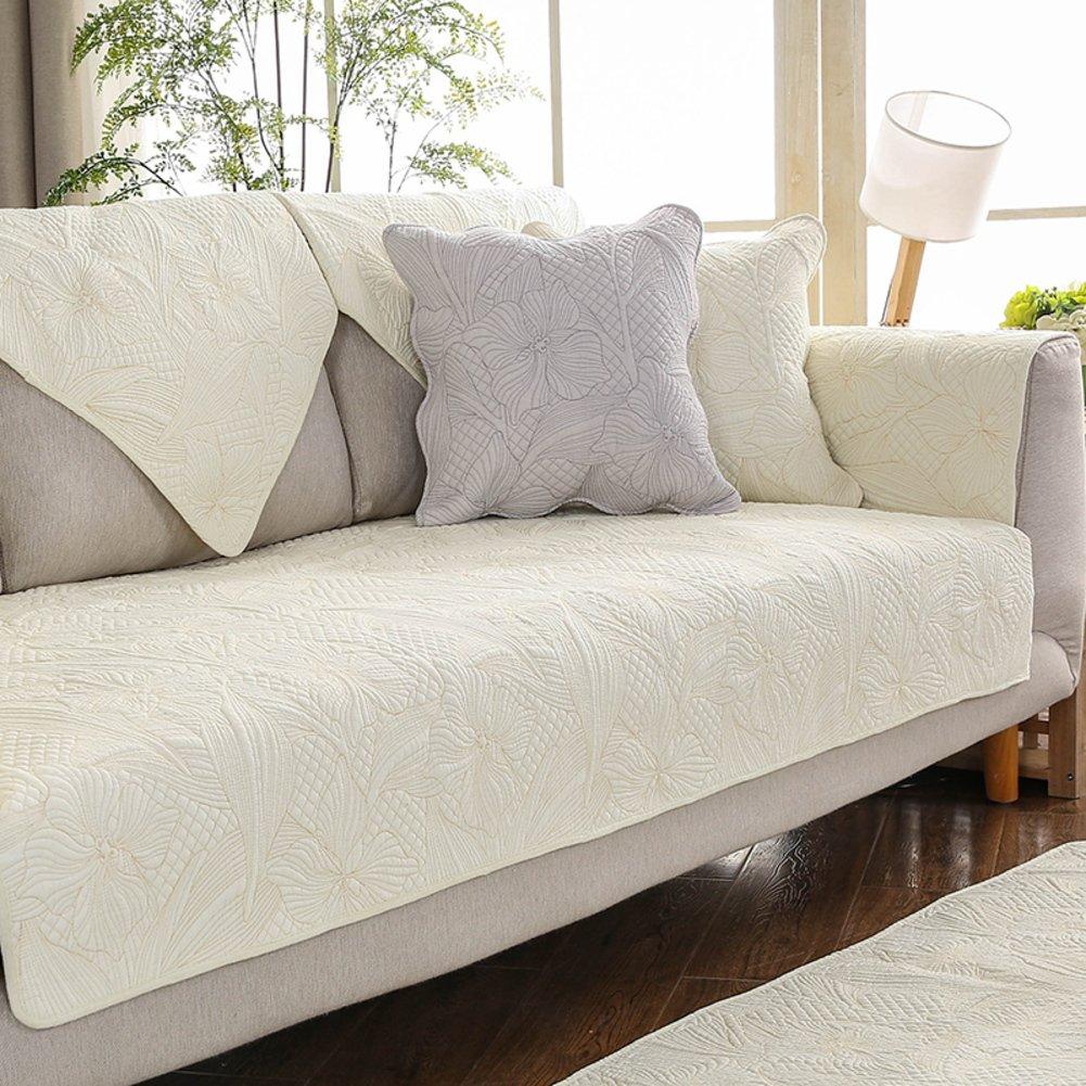 lovecover Protector de sofá de algodón para mascotas y niños ...