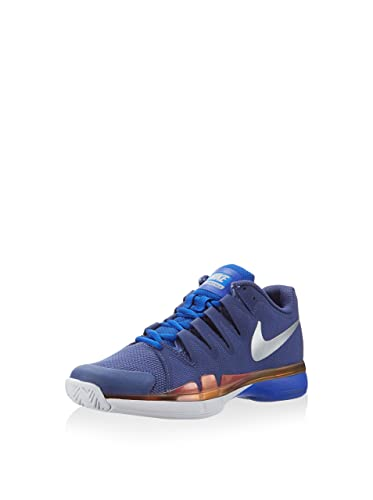 5276d8b2909ae Nike Women's Wmns Zoom Vapor 9.5 Tour, DARK PURPLE DST/METLLIC SILVER-RACER  BLUE