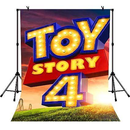 EdCott 5x7ft Toy Story 4 Banner Suministros de Fiesta ...