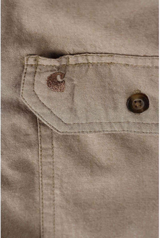 Camisa de trabajo Carhartt S202 L//S Fort Solid