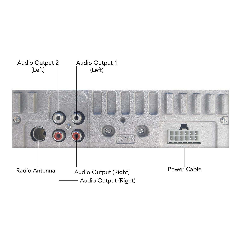 Dulcet Dc 1199d Detachable Panel Single Din Mp3 Car Dsx Access Control Wiring Diagram Electronics