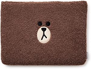 LINE FRIENDS Fabric Laptop Sleeve - Character Laptop Case Cover Pouch, 15""
