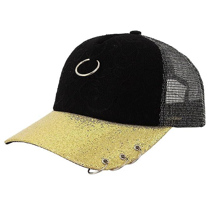 90S - Gorra de béisbol - para Mujer Dorado Dorado Talla única ...