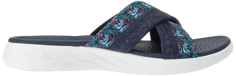 Skechers Sandal Women's on-The-Go 600-Monarch Slide Sandal Skechers B072T3DC2R 11 M US|Navy c567ba