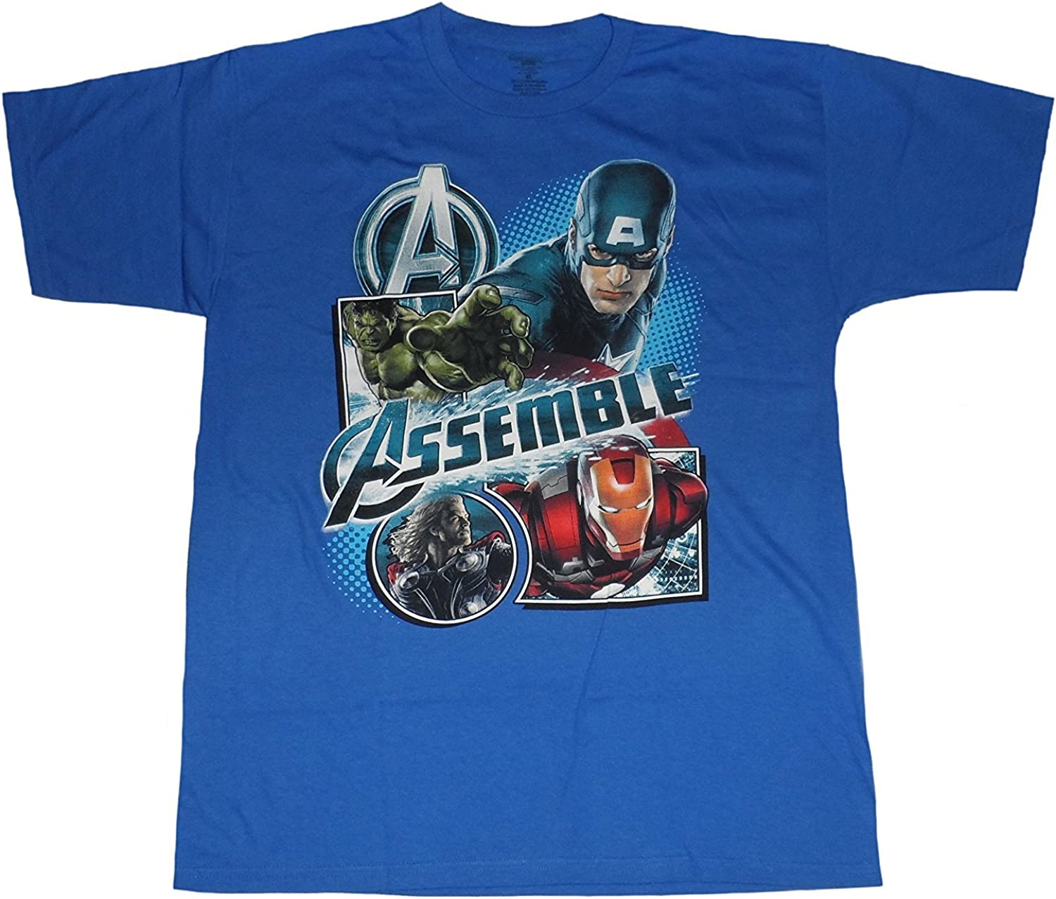 Marvel Avengers Assemble Big Boys Tee