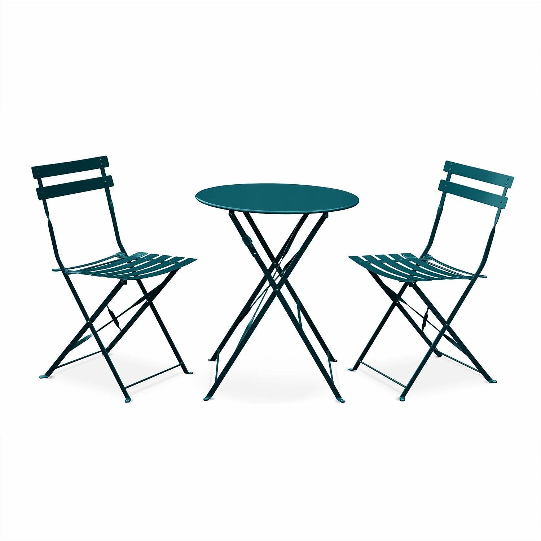 Alices Garden - Juego de muebles para jardín, plegable ...
