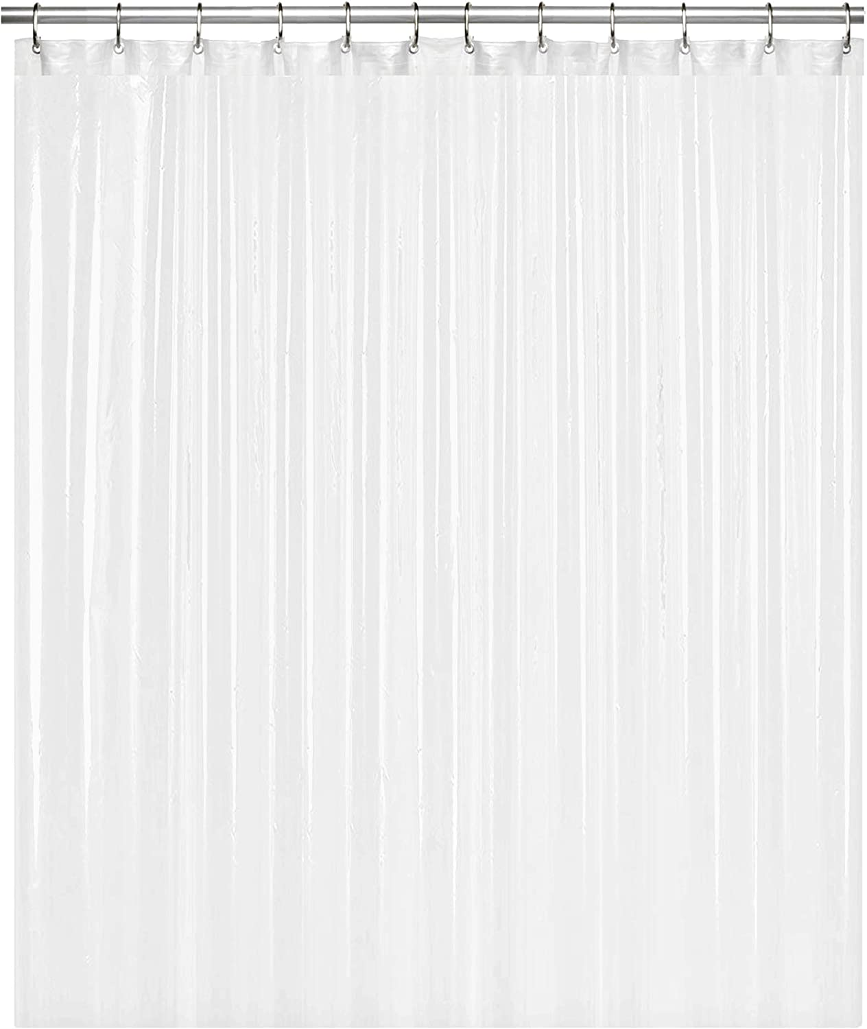Liba Peva 8g Bathroom Shower Curtain Liner 72 W X 72 H Frosted 8g Heavy Duty Waterproof Shower Curtain Liner Kitchen Dining