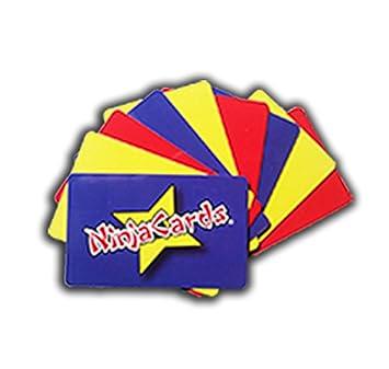 Amazon.com: Ninja – Tarjetas Throwing solamente – nuevo y ...