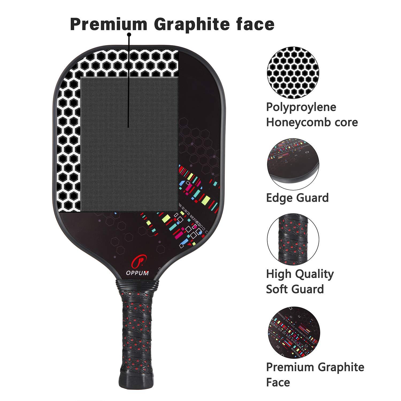 Amazon.com: Pala de píldora Oppum de grafito cara panal de ...