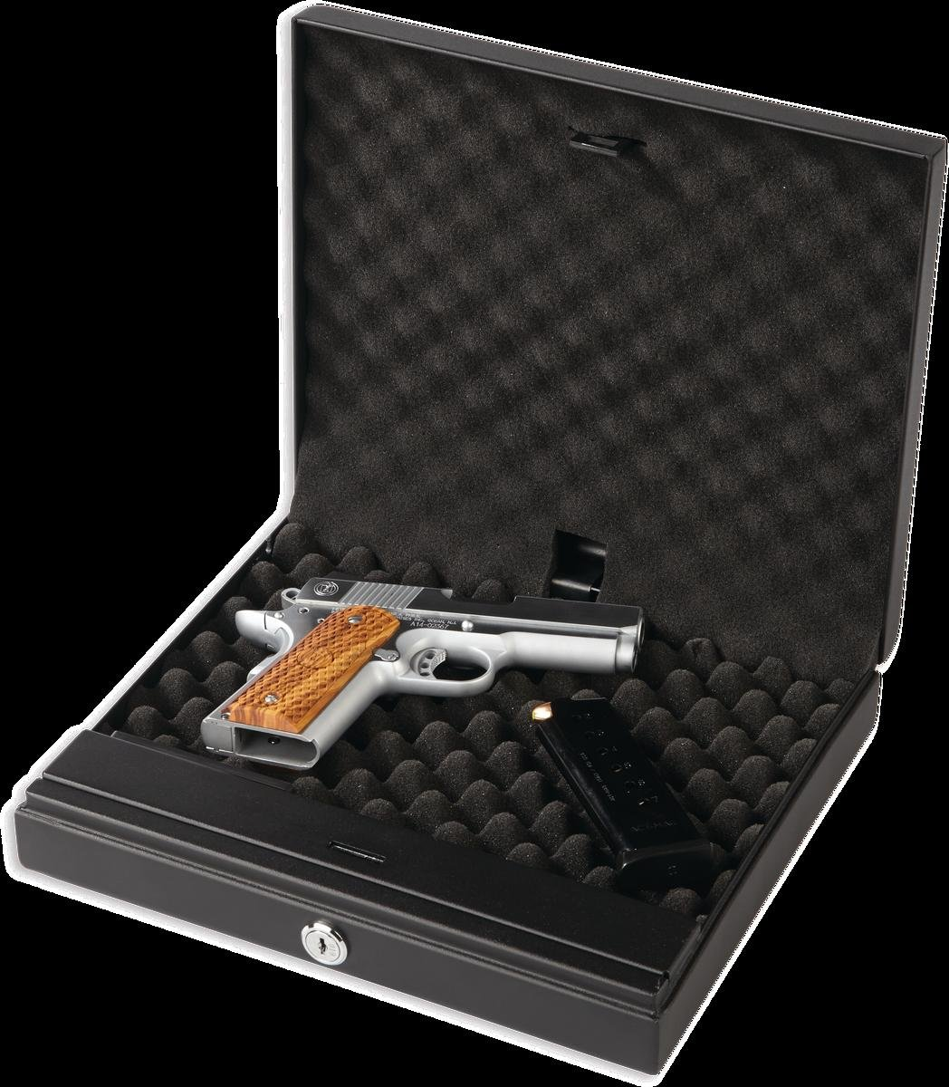 Bulldog Vaults Magnum Biometric Top Load Pistol Vault Black, 11.5 x 9.8 x 2.5'' by Bulldog Vaults (Image #4)