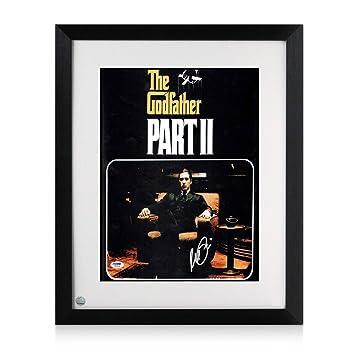 Al Pacino firmada y enmarcada cartel de película del padrino 2 ...