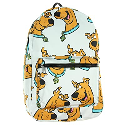 Scooby Doo Floating Head Big Face Sublimated Print Backpack School Bag | Kids' Backpacks