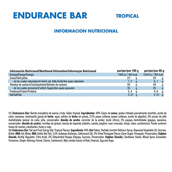 VICTORY ENDURANCE Endurance Bar Tropical 85g