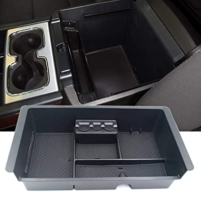 JOJOMARK for 2014-2020 GMC Sierra Accessories Yukon/Chevy Tahoe Silverado Suburban Center Console Organizer Tray, Armrest Secondary Storage Box Compatible with GM Vehicles Replaces 22817343: Automotive