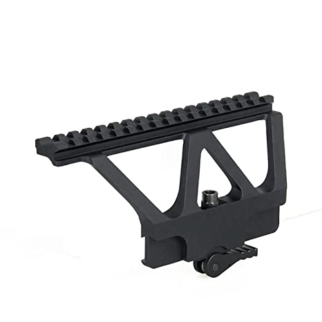 Tacksport Red Dot Scope Mount Picatinny Weaver Scope Mount for Red Dot  Sight Black