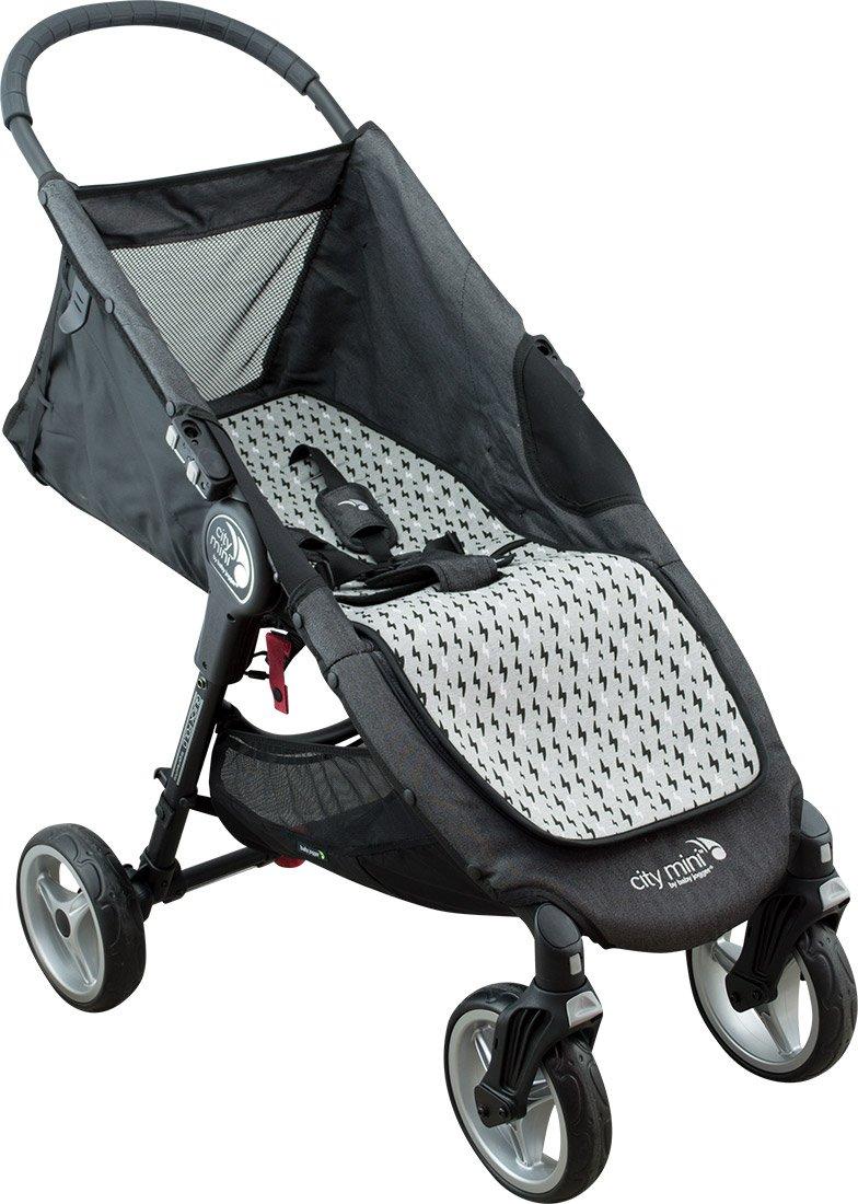 JANABEBE Colchoneta para Joolz y Baby Jogger City Mini (Black Rayo): Amazon.es: Bebé