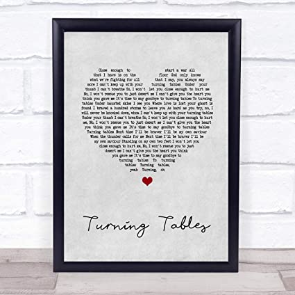 Amazon Com 79 Biiuyy Adele Turning Tables Grey Heart Song