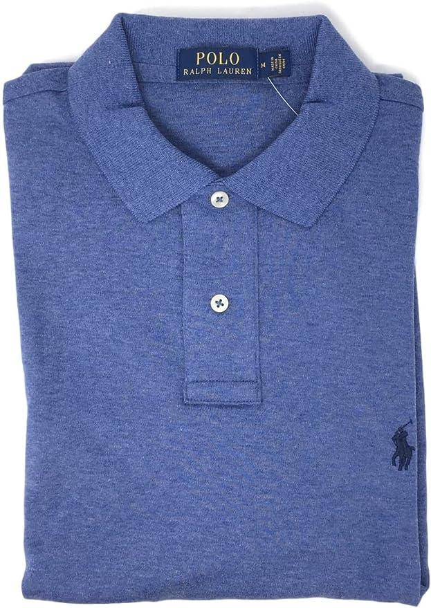 RALPH LAUREN Polo Mens Medium Fit Interlock Polo Shirt: Amazon.es ...