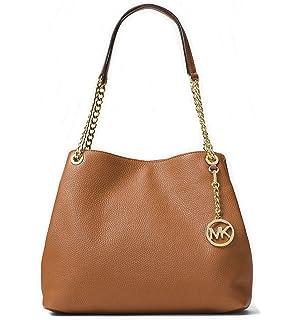 49dd235da74614 Amazon.com: MICHAEL Michael Kors Emry Medium Leather Tote Bag: Clothing