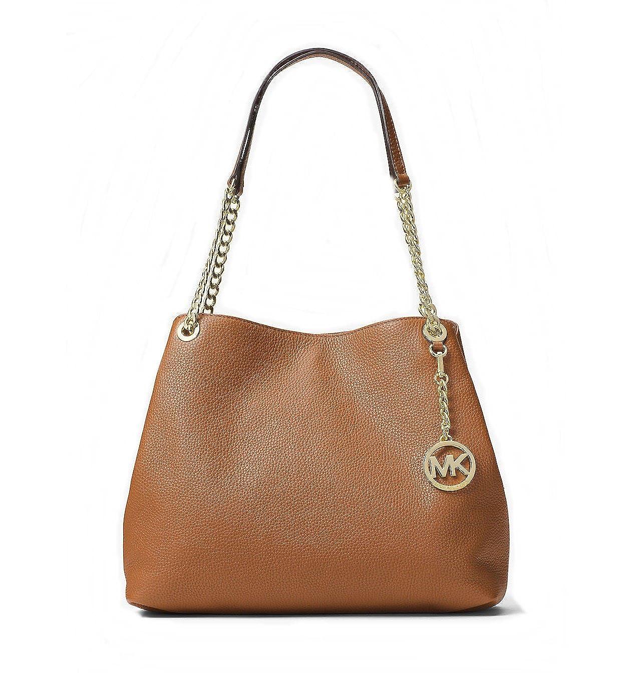 4b702f046848 Amazon.com  Michael Kors Jet Set Chain Item Large Leather Shoulder Bag  (Luggage)  Clothing
