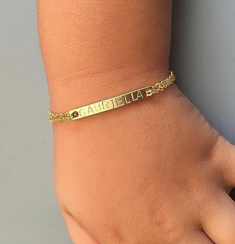 Amazon Com Personalized Bracelet For Kids Baby Bracelet For Baby