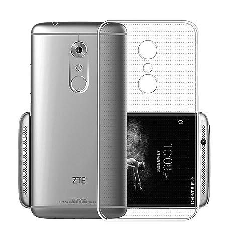 Funda para ZTE Axon 7 mini, Leathlux Trasparente Suave TPU ...