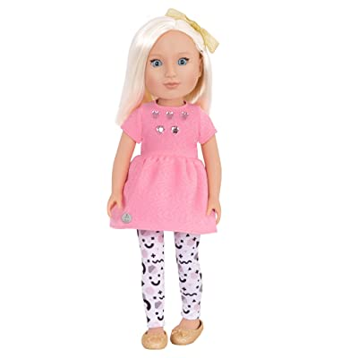 Glitter Girls by Battat - Elula 14 inch Non Posable Fashion Doll - Dolls for Girls Age 3 and Up: Toys & Games