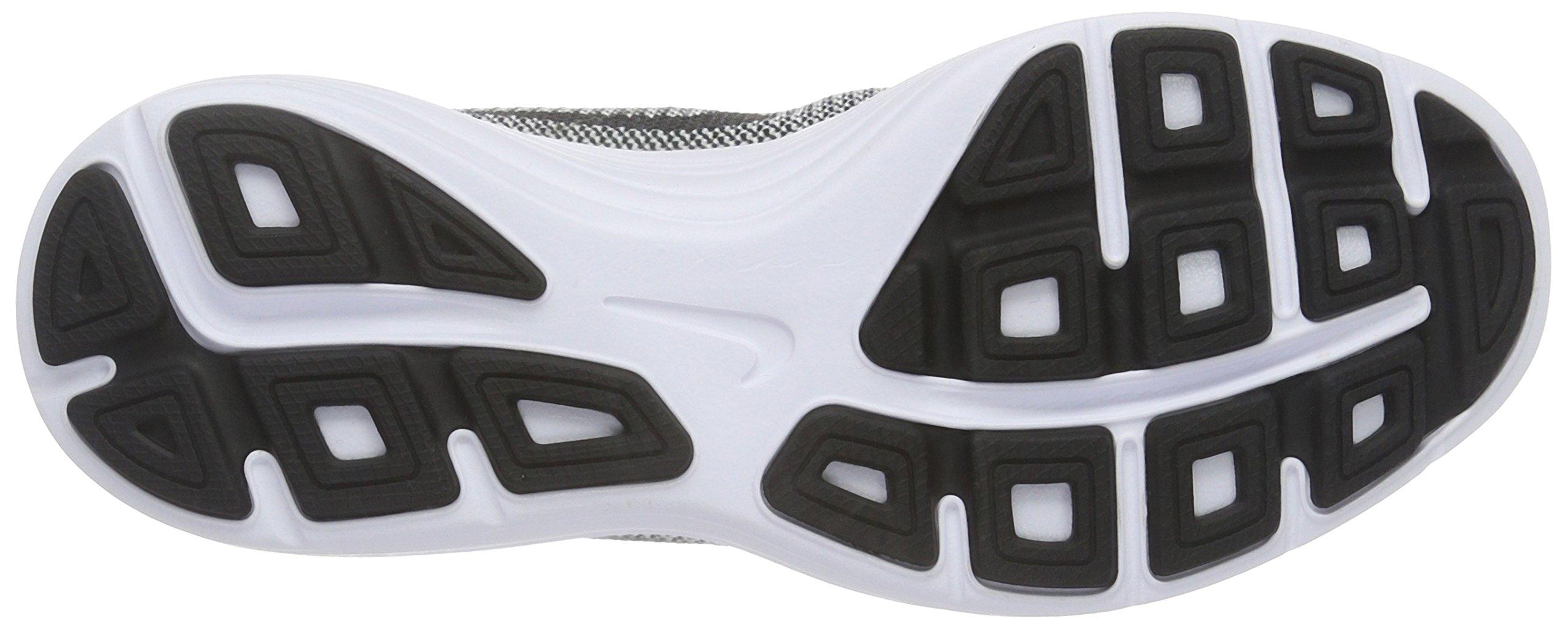 Nike Boys' Revolution 3 (GS) Running Shoe Black/White/Volt, 4.5 M US Big Kid by Nike (Image #3)