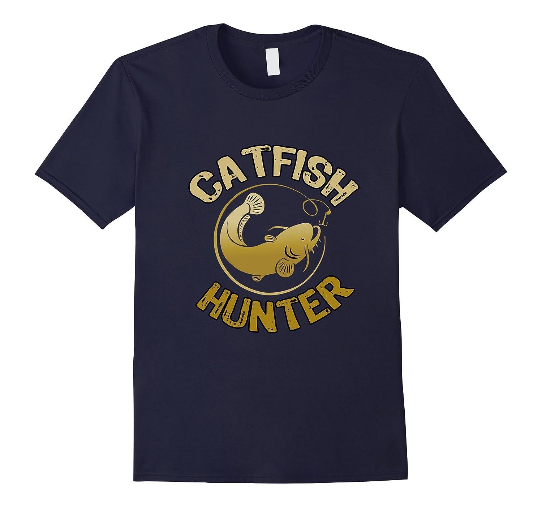 Catfish Hunter Tournament Fishing T Shirt-TD