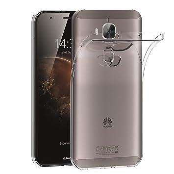 iVoler Funda Carcasa Gel Transparente para Huawei G8, Ultra Fina 0,33mm, Silicona TPU de Alta Resistencia y Flexibilidad