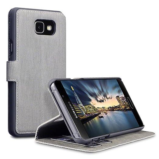 65 opinioni per Cover Galaxy A5 2016, Terrapin Cover di Pelle con Funzione di Appoggio