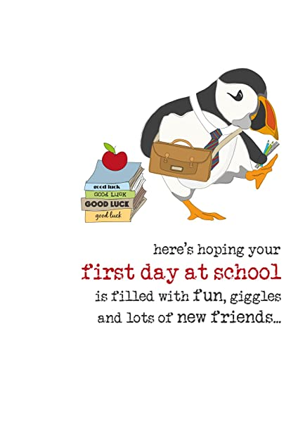 Amazon first day at school sparkle finished greeting card by first day at school sparkle finished greeting card by dandelion stationery m4hsunfo