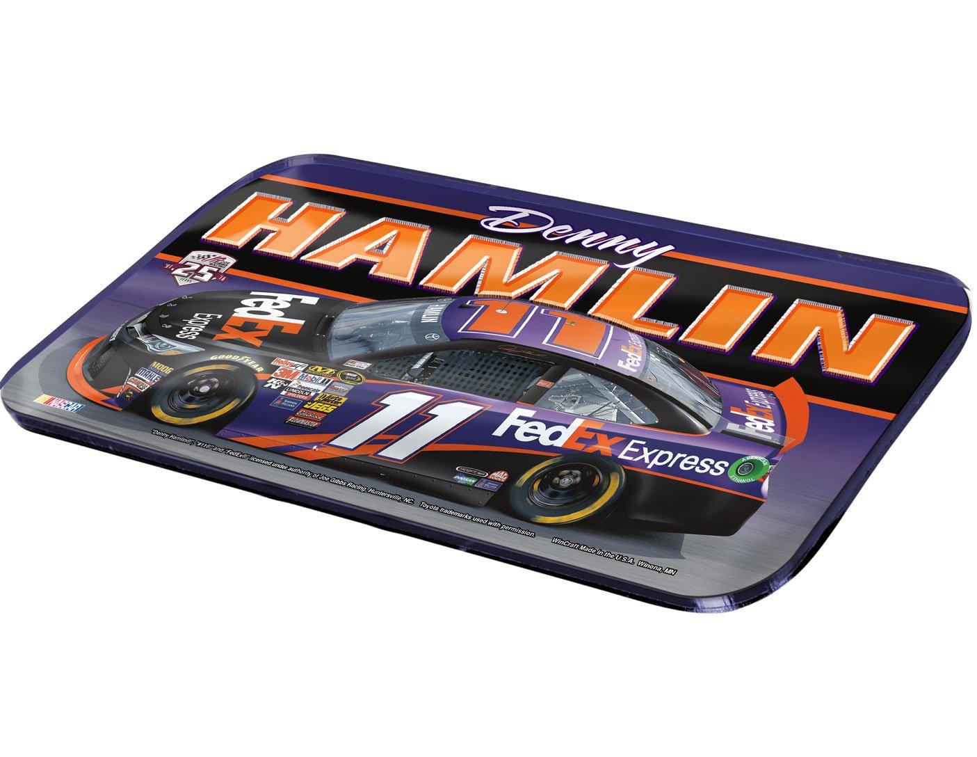 【人気沸騰】 NASCAR NASCAR Denny Hamlin Federal Express車クリスタルミラーライセンスプレート、6 Federal x 12-inch 12-inch B01BDIP1P6, 内原町:27de0927 --- arianechie.dominiotemporario.com