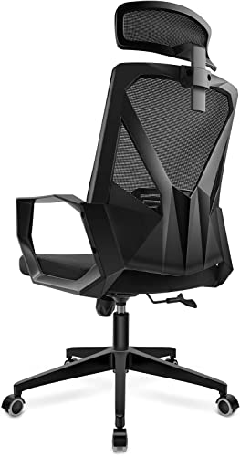 DAVEJONES Office Chair Desk Computer Ergonomic High Back Mesh Chair