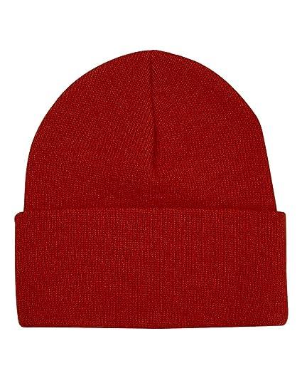ed188684857 Bayside Men s Cuffed Knit Beanie Cap