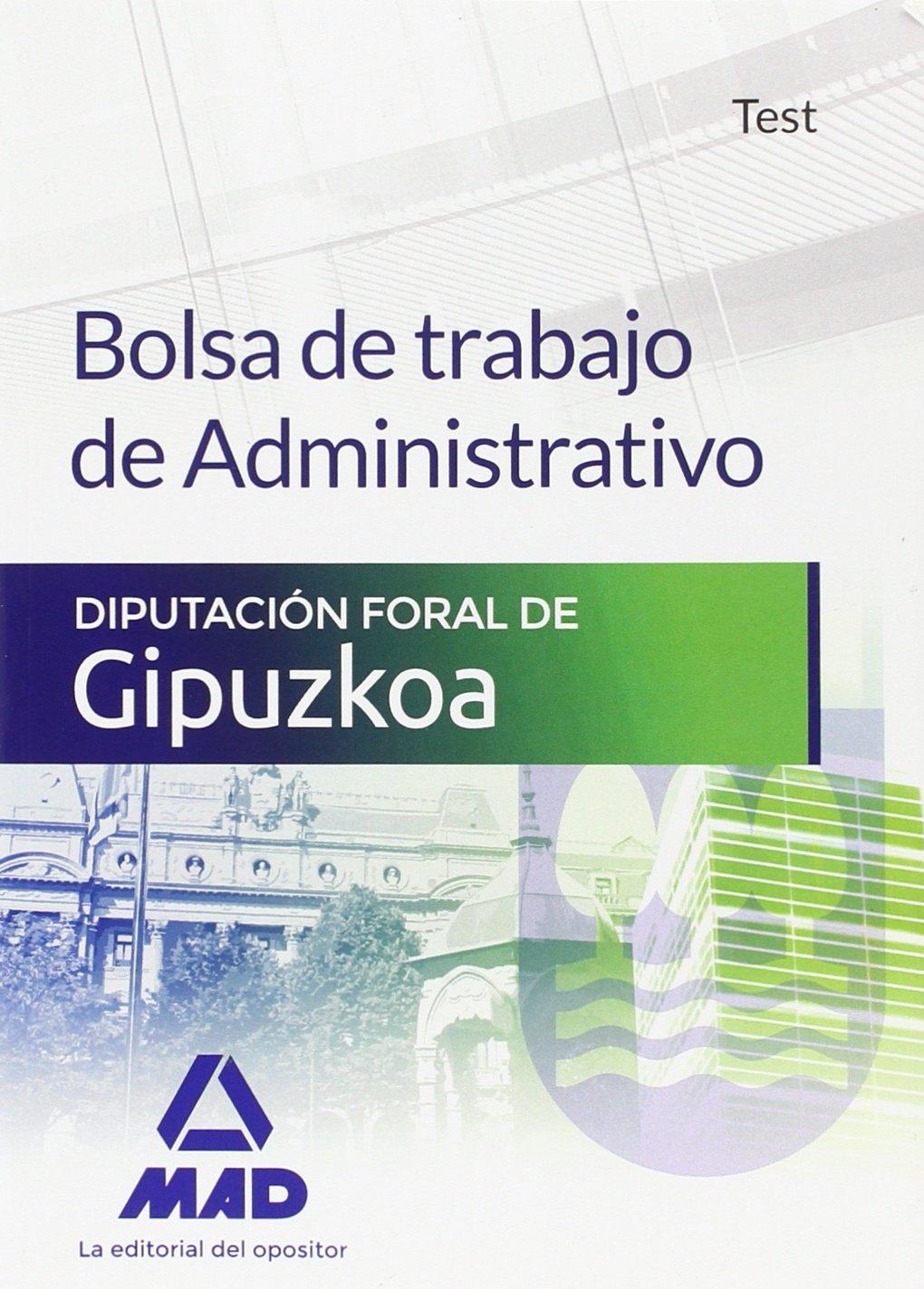 Bolsa de trabajo de Administrativo de la Diputación Foral de ...
