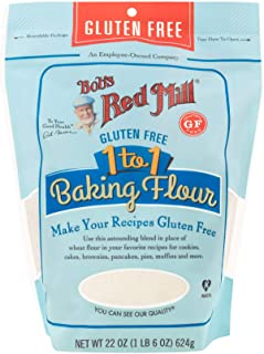product image for BOBS RED MILL 1 To 1 Gluten Free Baking Flour, 22 Ounce