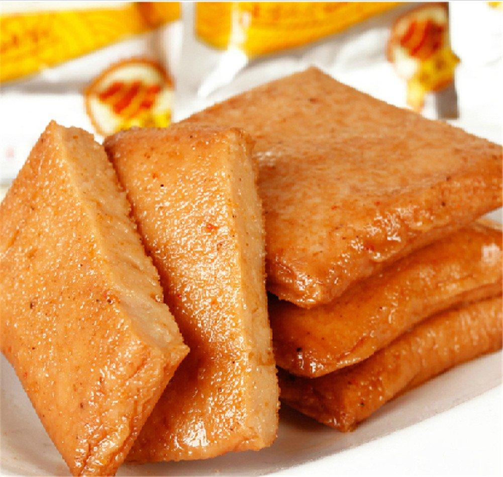 Qyz@ Chinese Special Deilcious Leisure Snack Food:spicy Fish Tofu(240g)