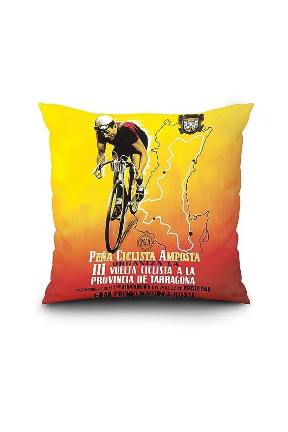 Amazon.com: Bicycle Racing - Vintage Advertisement (20x20 ...